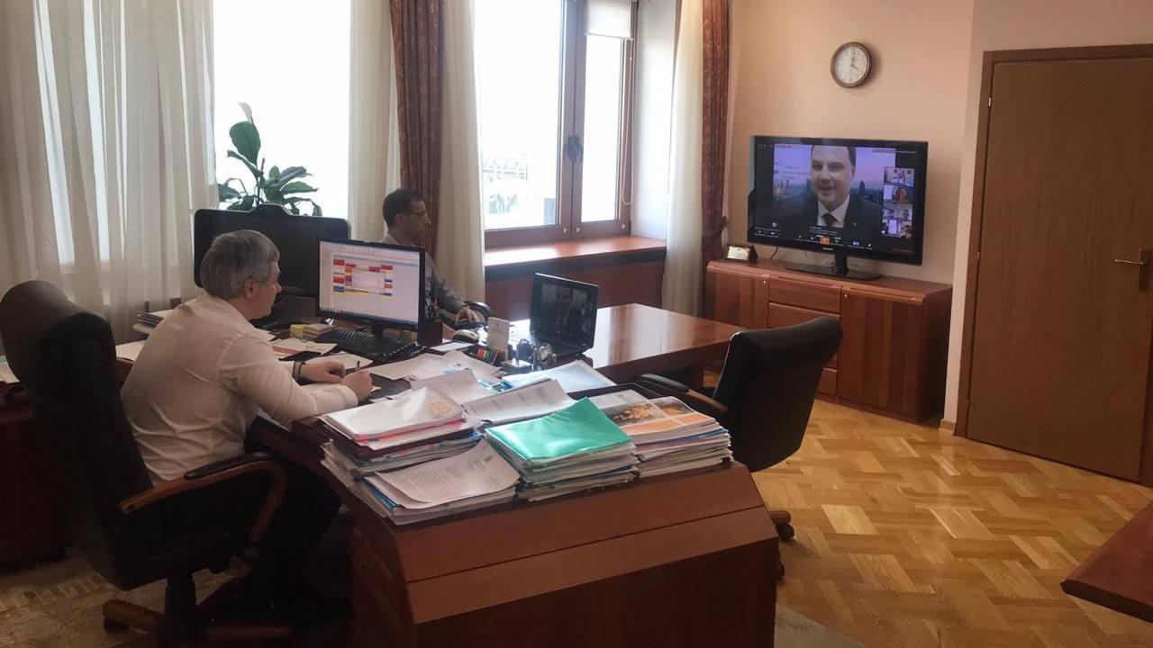 Конференция о мерах поддержки бизнеса на уровне региона с министром экономического развития и инвестиций Самарской области
