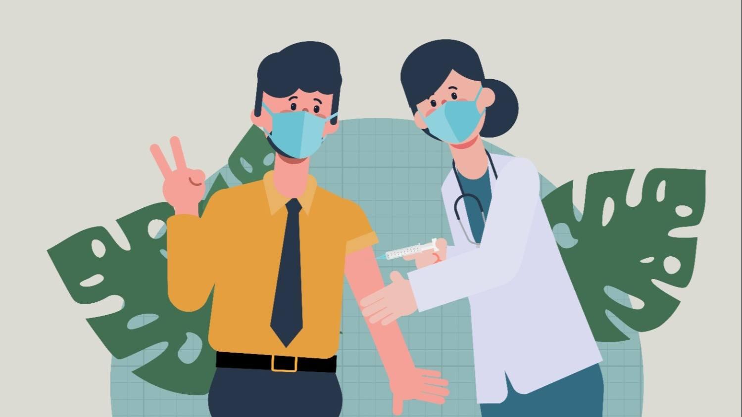Опрос: ход вакцинации от COVID-19 сотрудников малого и среднего бизнеса в Самарской области