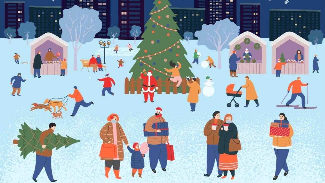 Приглашаем жителей региона на новогодний маркет товаров и услуг от самозанятых!